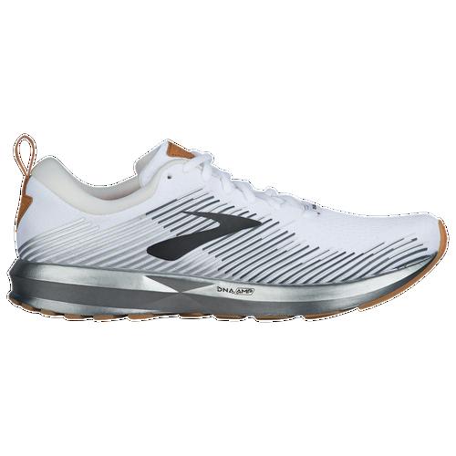 Brooks Levitate - Men's Running Shoes - White/Grey/Ebony 2691D170