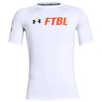 Under Armour FTBL S/S Compression Top - Men's - White