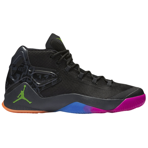 Jordan Melo M12 - Men's - Carmelo Anthony - Black / Light Green