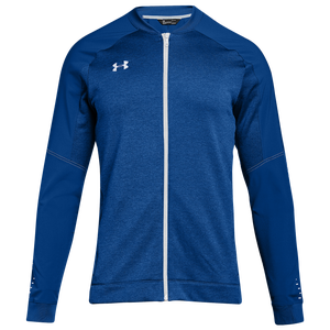 Under Armour Team Qualifier Hybrid Warm-Up Jacket - Men's - Royal/White