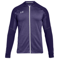 Under Armour Team Qualifier Hybrid Warm-Up Jacket - Men's - Purple