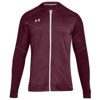 Under Armour Team Qualifier Hybrid Warm-Up Jacket - Men's - Maroon