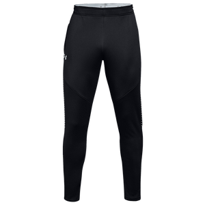Under Armour Team Qualifier Hybrid Warm-Up Pants - Men's - Black/White