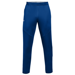 Under Armour Team Qualifier Hybrid Warm-Up Pants - Men's - Royal/White