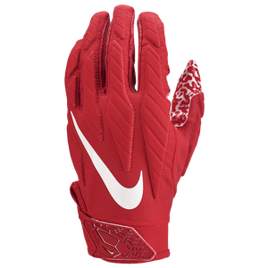 Nike Superbad 5.0 Football Gloves - Men's - University Red/White