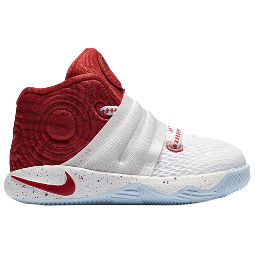 Nike Kyrie 2 - Boys' Toddler - Basketball - Shoes - Irving, Kyrie -  White/University Red/Gym Red