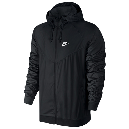 Nike Windrunner Jacket - Men's - Casual - Clothing - Black/Black ...