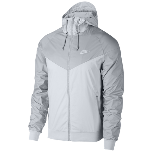 Nike Windrunner Jacket - Men s - Casual - Clothing - Pure Platinum Wolf Grey f3e9628ad