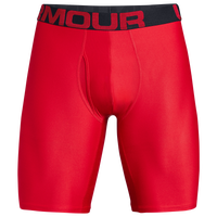 "Under Armour Tech 9"" 2 Pack Boxerjock - Men's - Red"