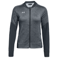 Under Armour Team Qualifier Hybrid Warm-Up Jacket - Women's - Grey