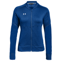 Under Armour Team Qualifier Hybrid Warm-Up Jacket - Women's - Blue
