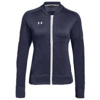 Under Armour Team Qualifier Hybrid Warm-Up Jacket - Women's - Navy