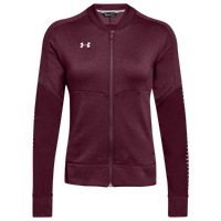 Under Armour Team Qualifier Hybrid Warm-Up Jacket - Women's - Maroon