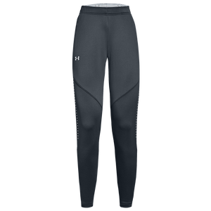 Under Armour Team Qualifier Hybrid Warm-Up Pants - Women's - Stealth Grey/White