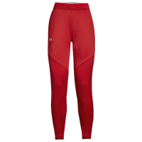 Under Armour Team Qualifier Hybrid Warm-Up Pants - Women's - Red