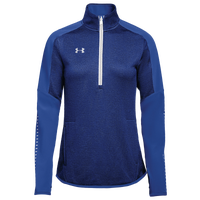 Under Armour Team Qualifier Hybrid 1/2 Zip - Women's - Blue