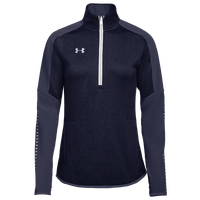Under Armour Team Qualifier Hybrid 1/2 Zip - Women's - Navy