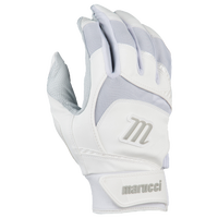 Marucci Signature Batting Gloves - Men's - White / Grey