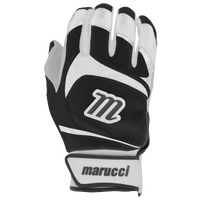 Marucci Signature Batting Gloves - Grade School - White / Black