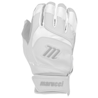 Marucci Signature Batting Gloves - Grade School - White / Grey