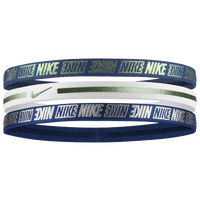 Nike Metallic Hairbands 2.0 3 Pack - Women's - Navy