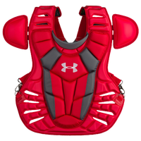 Under Armour Converge Chest Protector - Men's - Red / Silver