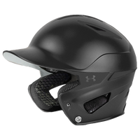 Under Armour Converge Batting Helmet - All Black / Black