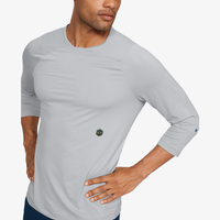 Under Armour Rush Compression 3/4 Sleeve Top - Men's - Grey