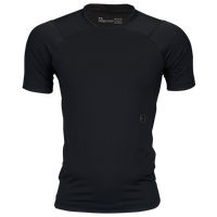 Under Armour Rush Compression T-Shirt - Men's - All Black / Black