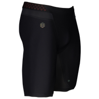 "Under Armour Rush Compression 9"" Shorts - Men's - All Black / Black"