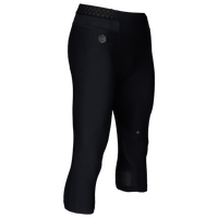 Under Armour Rush Compression 3/4 Leggings - Men's - All Black / Black