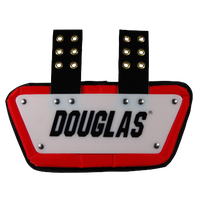 "Douglas CP 4"" Removable Back Plate - Men's - White / Red"