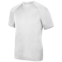 Augusta Sportswear Team Attain Wicking T-Shirt - Men's - All White / White
