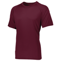 Augusta Sportswear Team Attain Wicking T-Shirt - Boys' Grade School - Maroon / Maroon