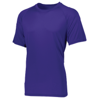 Augusta Sportswear Team Attain Wicking T-Shirt - Boys' Grade School - Purple / Purple