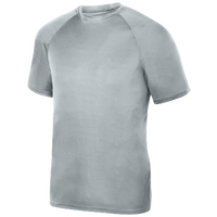 Augusta Sportswear Team Attain Wicking T-Shirt - Boys' Grade School - Silver / Silver