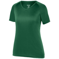 Augusta Sportswear Team Attain Wicking T-Shirt - Women's - Dark Green / Dark Green