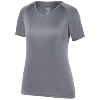 Augusta Sportswear Team Attain Wicking T-Shirt - Women's - Grey / Grey