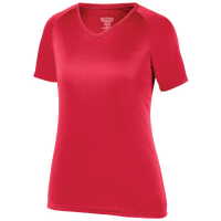 Augusta Sportswear Team Attain Wicking T-Shirt - Women's - Red / Red