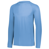 Augusta Sportswear Team Attain Wicking Long Sleeve T-shirt - Men's - Light Blue