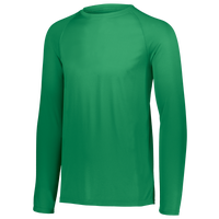 Augusta Sportswear Team Attain Wicking Long Sleeve T-shirt - Men's - Green