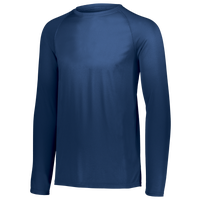 Augusta Sportswear Team Attain Wicking Long Sleeve T-shirt - Men's - Navy