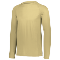 Augusta Sportswear Team Attain Wicking Long Sleeve T-shirt - Men's - Gold