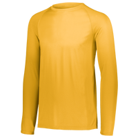 Augusta Sportswear Team Attain Wicking Long Sleeve T-shirt - Boys' Grade School - Gold