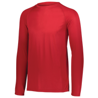 Augusta Sportswear Team Attain Wicking Long Sleeve T-shirt - Boys' Grade School - Red