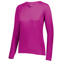 Augusta Sportswear Team Attain Wicking Long Sleeve T-shirt - Women's - Pink