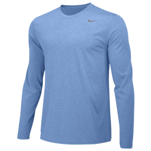 Nike Team Legend Long Sleeve Poly Top - Men's - Valor Blue/Cool Grey