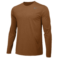 Nike Team Legend Long Sleeve Poly Top - Men's - Orange / Orange