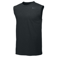 Nike Team Legend Sleeveless Poly Top - Men's - All Black / Black