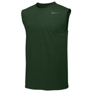 Nike Team Legend Sleeveless Poly Top - Men's - Gorge Green/Cool Grey